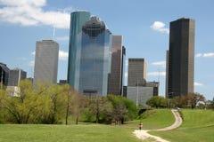 城市主导的路地平线 库存照片