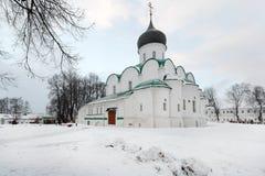 城市亚历克萨尼昂,弗拉基米尔地区 修道院亚历山大Sloboda 库存照片