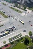 城市交叉路 图库摄影