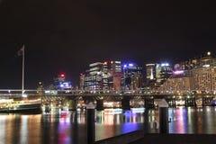 城市亲爱的港口悉尼 免版税库存图片
