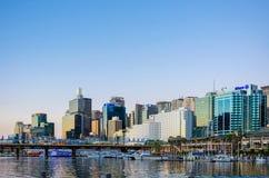 城市亲爱的港口悉尼 库存图片