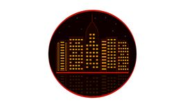 城市传染媒介以图例解释者 向量例证