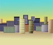 城市传统化了 免版税库存图片