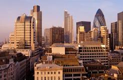 城市伦敦地平线 库存图片