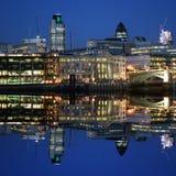城市伦敦地平线 免版税图库摄影