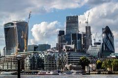 城市伦敦地平线 免版税库存图片