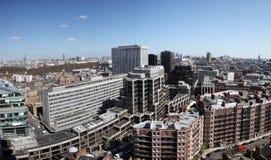城市伦敦视图威斯敏斯特 库存照片