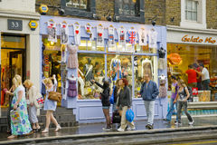 城市伦敦购物 免版税库存图片