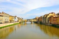城市佛罗伦萨意大利 免版税库存照片
