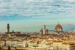 城市佛罗伦萨视图 图库摄影