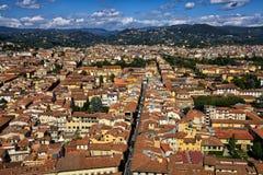 城市佛罗伦萨 库存图片