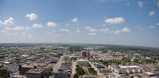 城市俄克拉何马地平线 免版税库存图片