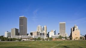 城市俄克拉何马 免版税库存图片