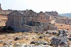 城市停止的叙利亚 免版税库存图片
