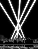 城市光 向量例证