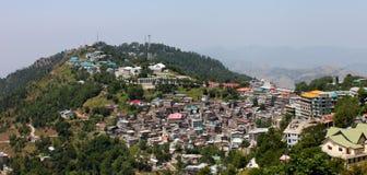 城市克什米尔murree巴基斯坦点 库存照片