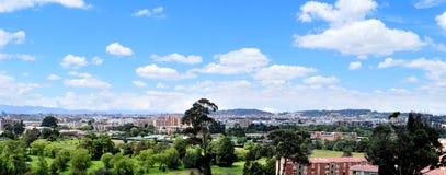 城市全景。 库存图片