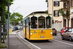 城市公共交通工具 免版税库存照片
