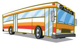 城市公共汽车 库存例证