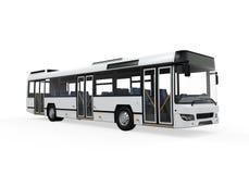 城市公共汽车  免版税库存图片
