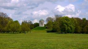 城市公园在慕尼黑 库存图片