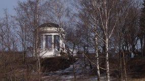 城市公园在早期的春天 免版税图库摄影