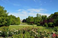 城市公园在米兰 库存图片