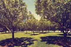城市公园方式 库存图片