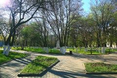 城市公园风景 免版税库存图片