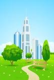 城市公园 免版税库存图片