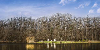 城市公园Maksimir萨格勒布 库存照片