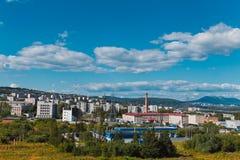 城市兹拉托乌斯特俄罗斯 免版税图库摄影