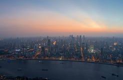 城市内在上海 库存照片