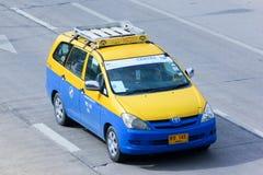 城市出租汽车chiangmai 免版税图库摄影