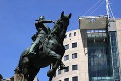 城市利兹广场 免版税图库摄影