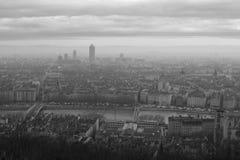 城市利昂 库存照片