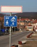 城市前表 图库摄影