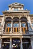 城市剧院的门面在莱顿 库存照片