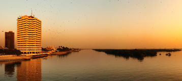 城市卡拉奇 免版税库存图片