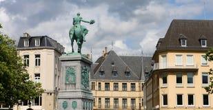 城市卢森堡 图库摄影
