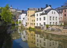 城市卢森堡 免版税库存照片