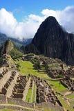 城市印加人失去的machu秘鲁picchu 免版税库存图片