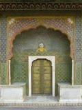 城市印度斋浦尔宫殿 库存照片