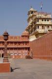 城市印度斋浦尔宫殿 免版税库存图片