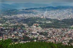 城市印度shilong 免版税库存图片