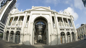 城市厄瓜多尔政府瓜亚基尔大厅办公室 免版税库存照片