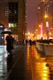 城市反射 库存照片