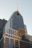 城市反映 免版税库存图片
