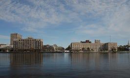 城市反映 免版税库存照片