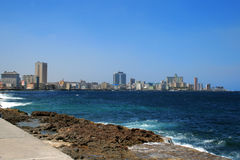 城市古巴哈瓦那 图库摄影